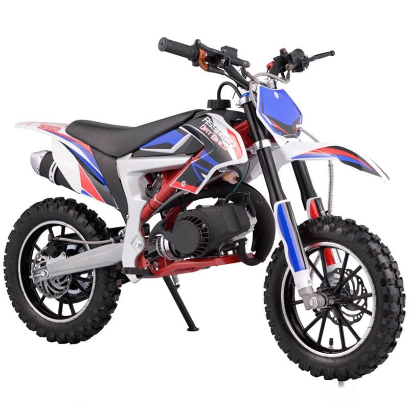 49CC MINI MOTOR DIRT BIKE KIDS POCKET ROCKET EASY PULL START MOTORCYCLE ATV 50CC